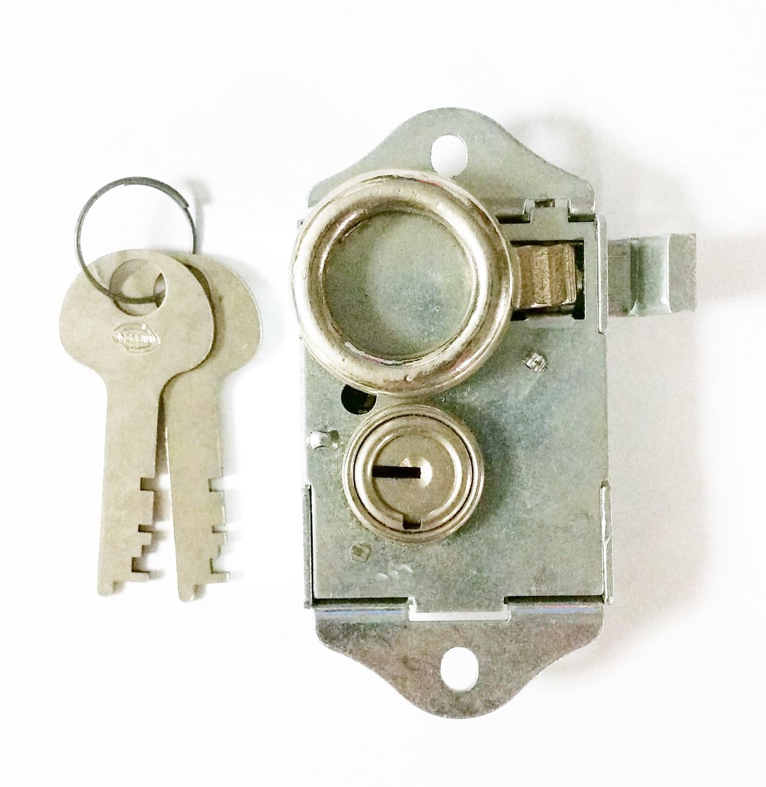 Vintage Corbin Panel Board Lock Flat Steel BNC2 Keyed Alike Locksmith