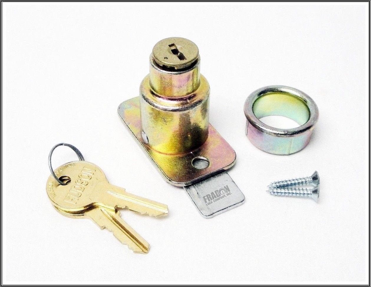 JOHN STERLING Pocket Door Passage Lock-Bright Brass CD-1038-US3